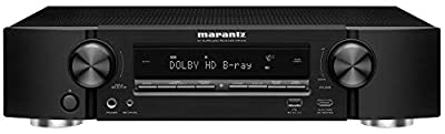 Marantz NR1510 UHD AV Receiver (2019 Model) – Slim 5.2 Channel Home Theater Amplifier, Dolby TrueHD and DTS-HD Master Audio | Alexa Compatible | Stream Music via Wi-Fi, Bluetooth and HEOS (Renewed)