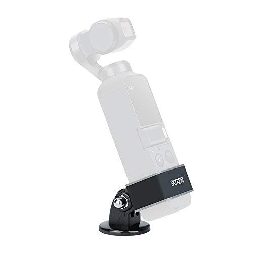 SKYREAT Aluminium Legierung Stativmontage Adapter Stand Funkmodul Kit für DJI Osmo Pocket Gimbal Zubehör