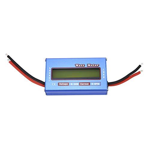 Watt Meter, Fydun 1Pc/lot RC Wattmeter digital Watt Meter Power Meter Checker DC 60V 100A Batería de voltaje de equilibrio para sistemas de banco de baterías de 12, 24, 36 y 48 voltios
