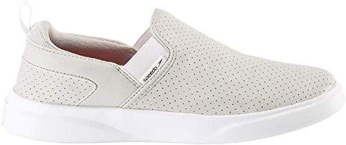 Speedo Ladies' Hybrid Slip on Shoe Grey White (US 8)