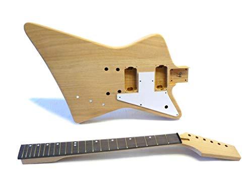 Guitarra Eléctrica/Guitar DIY Kit ML-Factory® Explorer-Style Mahogany