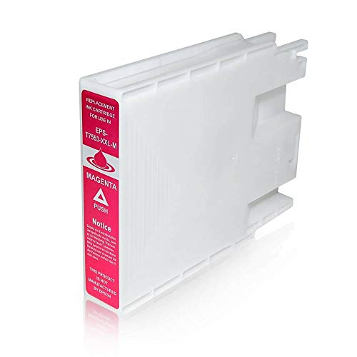 T7553 Cartuccia Compatibile Magenta Per Epson WorkForce Pro WF-8010 WF-8090 WF-8510 WF-8590