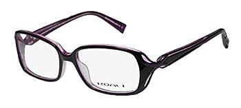 Koali By Morel 6966k For Ladies/Women Designer Full-Rim Shape Light Style European Fashionable Eyeglasses/Eyeglass Frame  53-16-135 Black/Purple