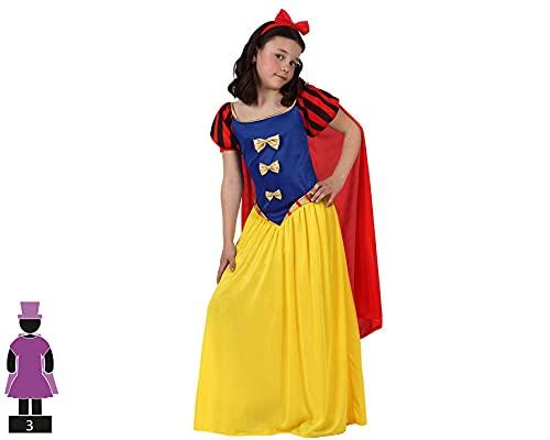 ATOSA disfraz princesa de cuento niña infantil capa 7 a 9 años
