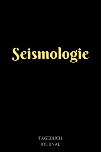 Seismologie: Notizbuch, Linierte Seiten, 6x9 Inch, Journal