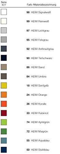 HEWI Seifenablage Serie 477 klein mit Noppen, Farbe:86 (Sand)