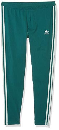 adidas Originals 3-Stripes Legging Calzamaglia, Verde Nobile, XS Donna