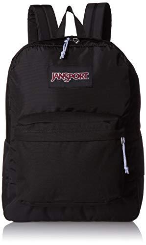 JanSport Black Label Superbreak Backpack - Black - Classic, Ultralight