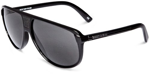 Quiksilver Herren Sonnenbrille Heat, black shadow grey, One size, QS1176