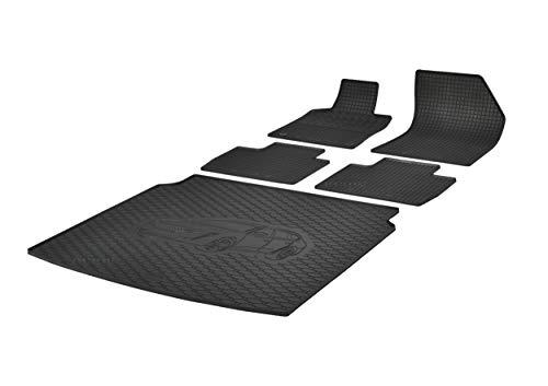 Bac de coffre et tapis de sol en caoutchouc RIGUM - Convient pour Peugeot 508 SW Break à partir de 2018 - Parfaitement adapté + Extra parfum de voiture