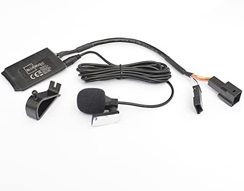 BlueMusic Interfaccia audio vivavoce Bluetooth compatibile con BMW E46 E39 E38 X5 E53 X3 E83 Z4 E85 E86 3 + 6 connessioni CD changer