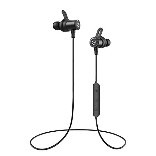 SoundPEATS Bluetooth Earphones, Wireless 5.0 Magnetic Earbuds, In-Ear IPX6...