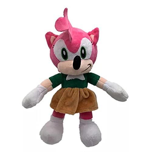Figura muñeca sónica Película de anime sonic the hedgehog sonic super sonic figura de juguete de felpa