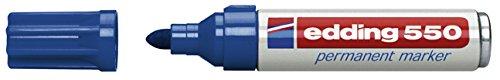 Edding 550 permanent blau 3-4mm Rundspitze