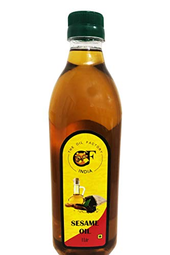 The Oil Factory Cold Pressed Gingelly/Sesame Oil (Virgin, Chekku/Ghani) - 1 LTR