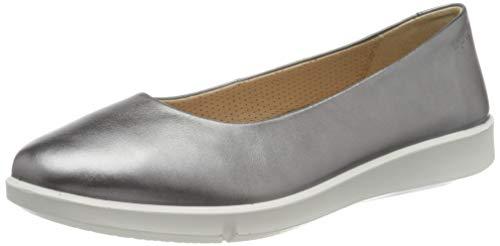 Legero Damen ACCUL Geschlossene Ballerinas, Silber (Metallic Silver (Silver) 95), 39 EU
