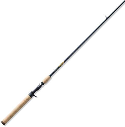 St. Croix TRC70MF Triumph Graphite Casting Fishing Rod with Cork Handle, 7-feet, Satin Grey