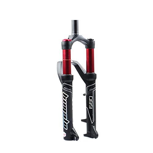 LXH-SH Tenedor de Bicicleta Tenedor de Bicicletas 27.5 / 29er Tenedor Puente Trasero Air MTB Bike Fork Suspension Aceite Y TENIVA DE Gas para Manitou Machete Comp (Color : 29ER Cone Hand)