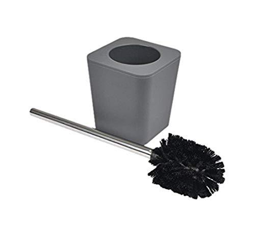 douceur d'intérieur 6ASB228GR Brosse WC Effet Soft Touch Anthracite 11,5 x 11,5 x 38,5 cm