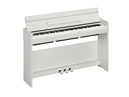 Yamaha YDP-S34 Arius Series Slim Digital Console Piano, White Walnut