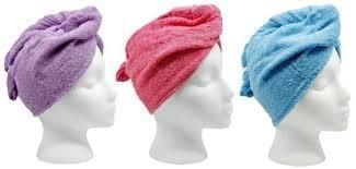 The Original Turbie Twist, Super Absorbent Hair Towel - Colors May Vary (1 Pack)