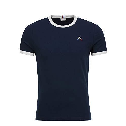 Le Coq Sportif Herren ESS Tee Ss N°4 Unterhemd, Blau (Dress Blues), M