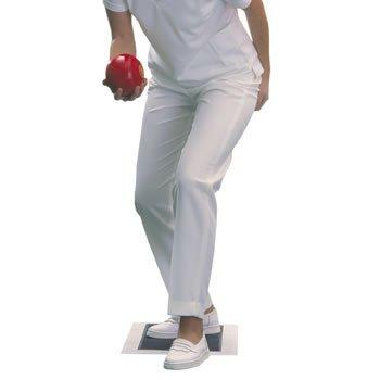 Taylor Damen Bowlinghose, Weiß Leg 27