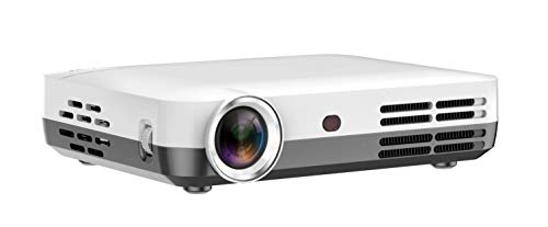 Projector WOWOTO Video Projector Mini Projector Support 1080P Brighter Home Theater with Android System HD Projector