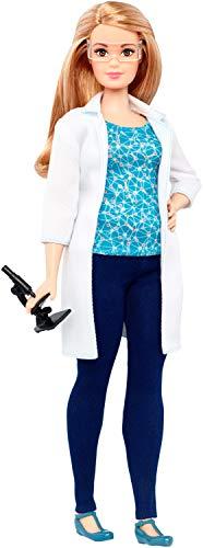 Mattel Barbie DVF60 - Ich wäre gern Naturwissenschaftlerin Puppe, Ankleidepuppen-Zubehör