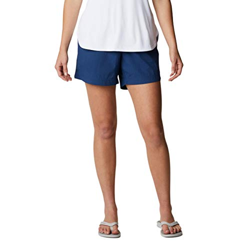 Columbia Women's Backcast Water Short, Breathable, UPF 50 Sun Protection, Carbon, Medium