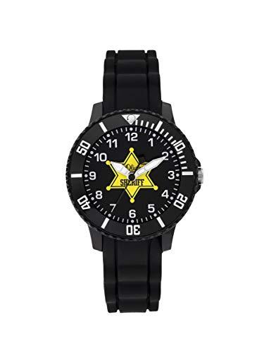 s.Oliver Jungen Analog Quarz Uhr mit Silikon Armband SO-3928-PQ