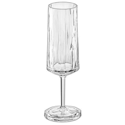 Sektglas aus Kunststoff 100ml, made in Germany, unzerbrechlich