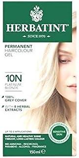 Herbatint 10N Platinum Blonde Hair Colour Gel 150ML