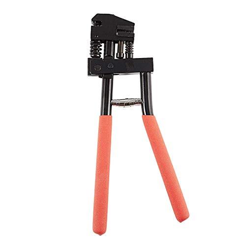 Stanzwerkzeug für Handflansch, Stahlblech, Crimpzange, Plattenflanschzange, Crimpwerkzeug, 5 mm Lochstanzwerkzeug für Blechwerkzeug
