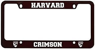 LXG, Inc. Harvard University -Metal License Plate Frame-Burgundy