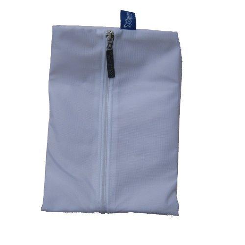 Jemako Waschsack / Wäschesack / Wäschebeutel für Mikrofasertücher (Farbe weiss)