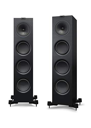 KEF Q750 Schwarz Lautsprecher Paar, HiFi | Heimkino | Standlautsprecher | Boxen | Stereo | High End | 3-Wege