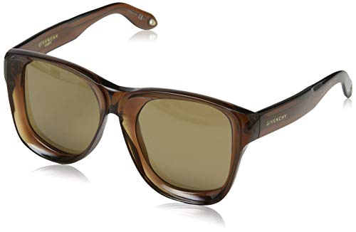 Givenchy GV 7074/S 70 09Q Gafas de sol, Marrón (Brown/Brown), 52 Unisex Adulto