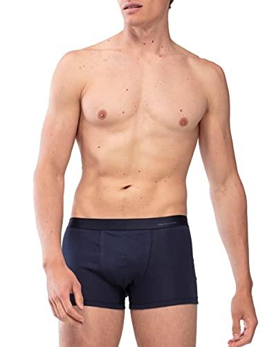 Mey Basics Serie Casual Cotton Herren Shorties Yacht Blue L(6)