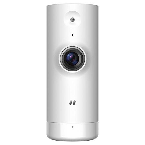 D-Link DCS-8000LH - Cámara IP WiFi de vigilancia con acceso desde móviles,  grabación de vídeo en la nube y en el móvil, HD 720p, H.264, compatible Amazon Alexa y Google Home, para iOS/Android