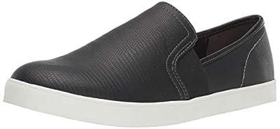 Dr. Scholl's Shoes Women's Luna Sneaker, Black Lizard Print, 8