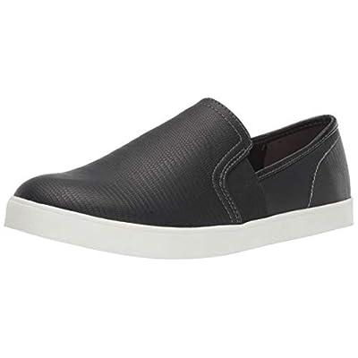 black on black slip on sneakers