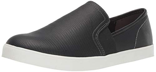 Dr. Scholl's Shoes Women's Luna Sneaker, Black Lizard Print, 11