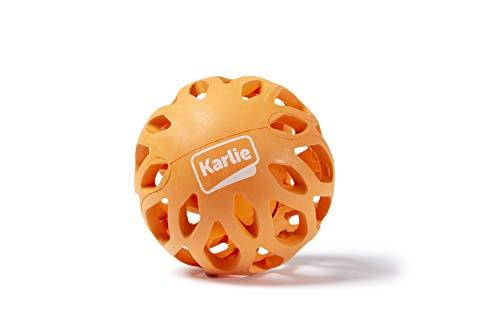 Karlie 521605 Gitterball Aus Gummi Koko, Orange, 8 X 8 X 16, 5 Cm, S, Orange