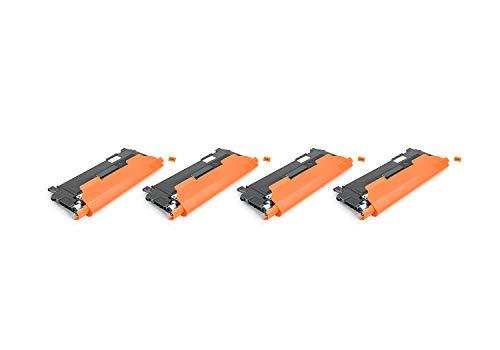 Green2Print Tóner Toner Set, 4 Cartuchos 6000 páginas sustituye a Samsung CLT-C404S,...