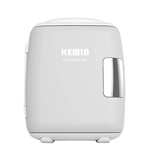 9 l Mini-Kühlschrank für Auto, kleiner Haushalt, zur Aufbewahrung von Milch, Kühlschrank mit einem Herz für Studenten (Farbe: Grau)