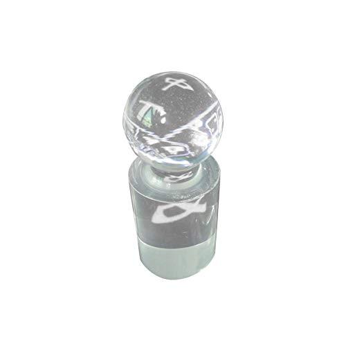 fllyingu Roulette Win Marker, Acryl Roulette Marker Drop-Proof Roulette Marker Für Pokerspiele Standard-Druckspielsammlung Zubehör