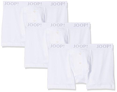 Joop! Herren 17 B-3-Pack-Boxer-L 10001475 Boxershorts, Weiß (White 100), X-Large (3er Pack)