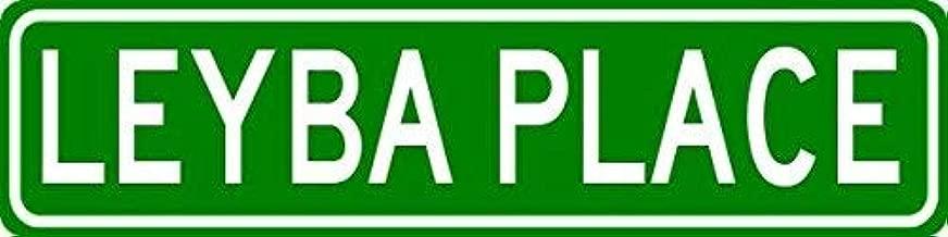 VinMea LEYBA Place - Customized Last Name Sign - 4
