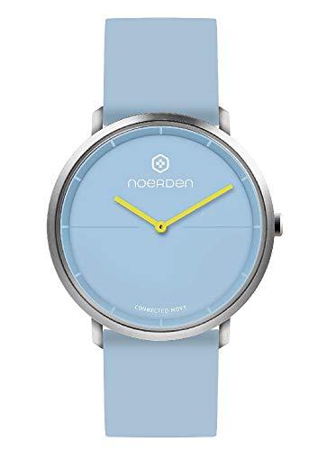 NOERDEN LIFE2 - Azul Cielo - Silicona - Reloj híbrido Inteligente - 38 mm